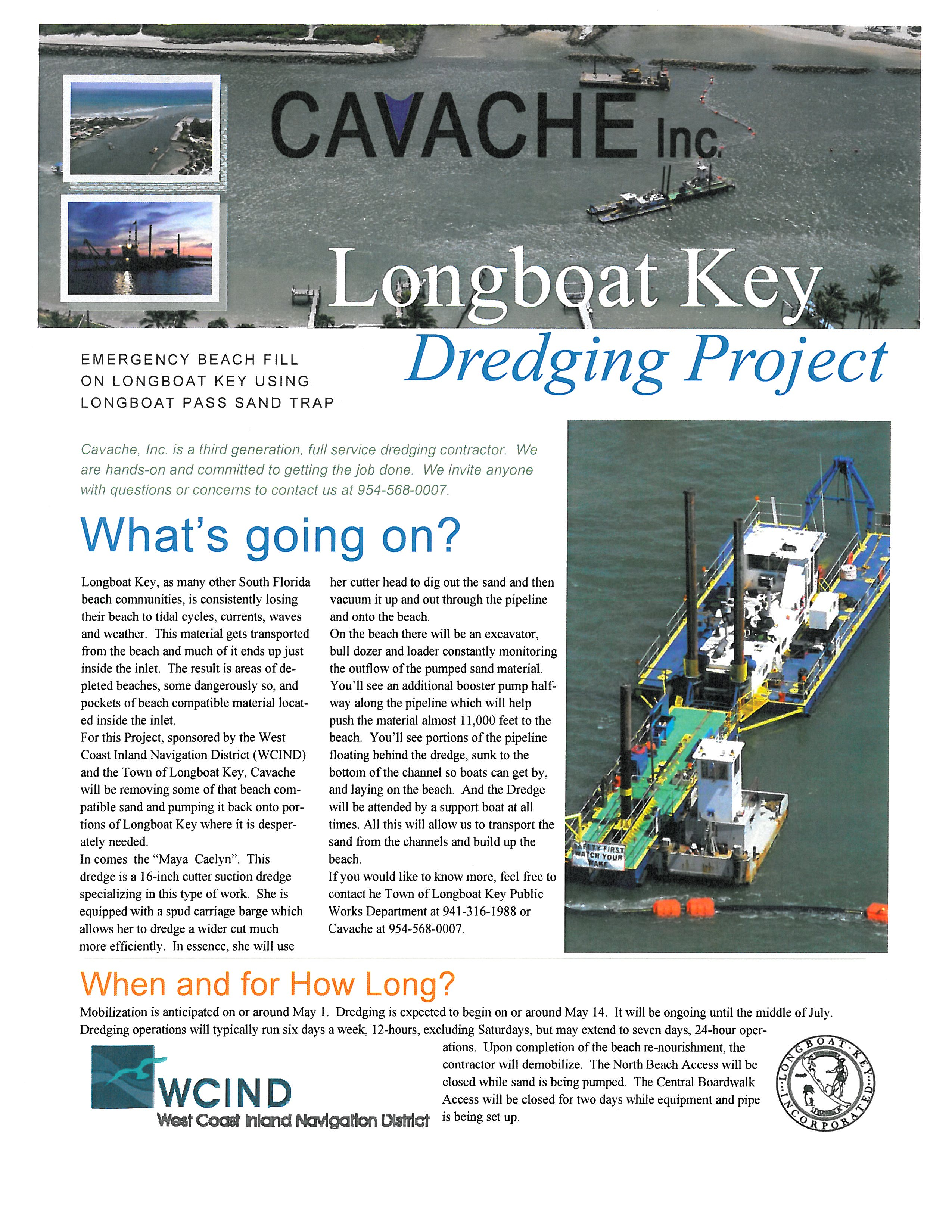 Longboat Key Dredging Project