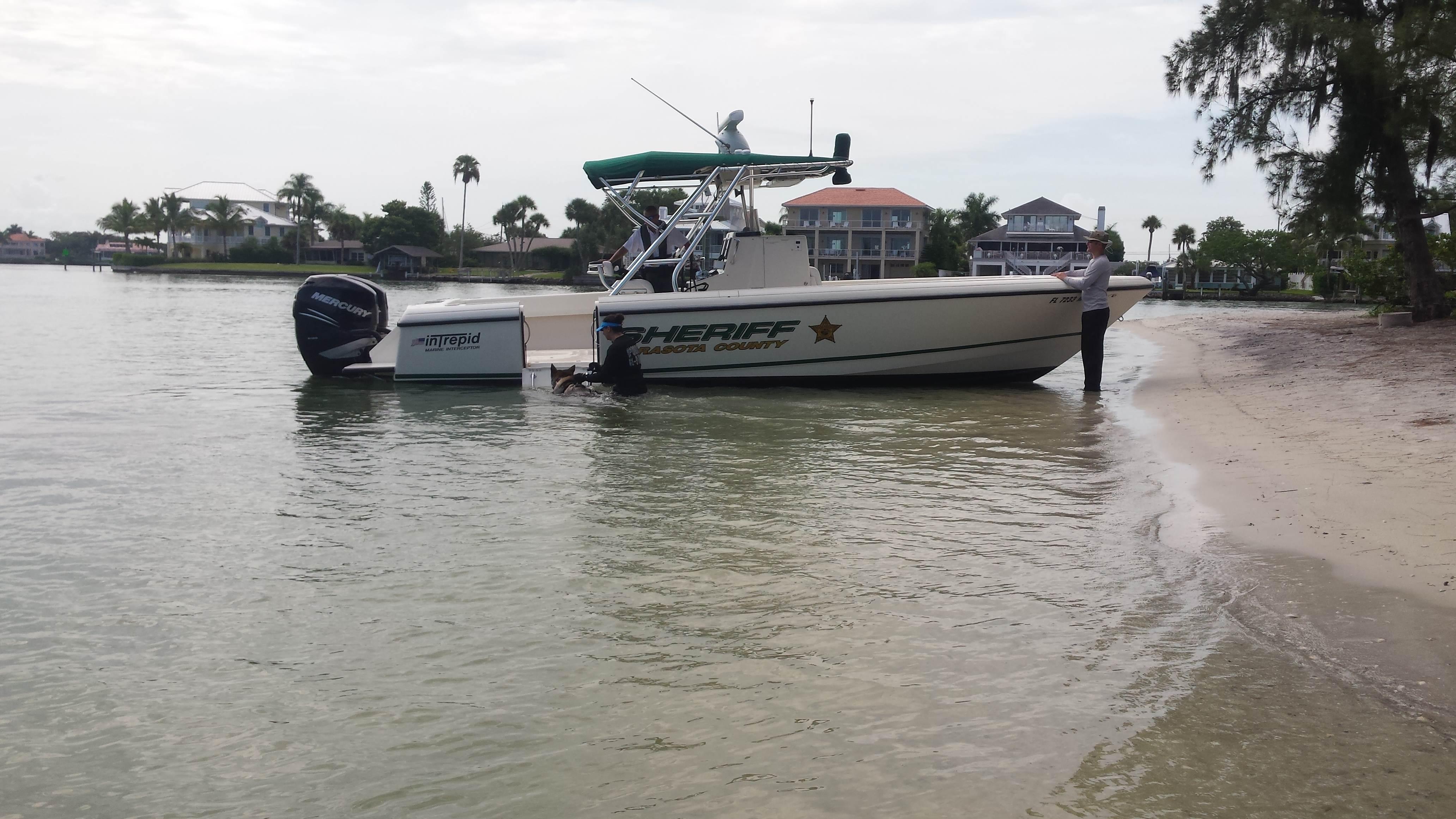 Venice Police boat
